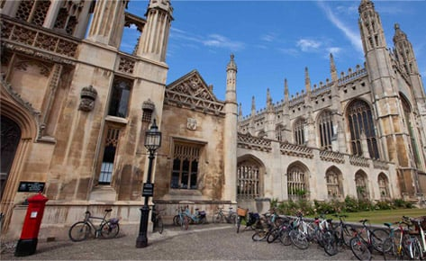 Cambridge college campus